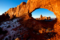 Turret Arch Through Window